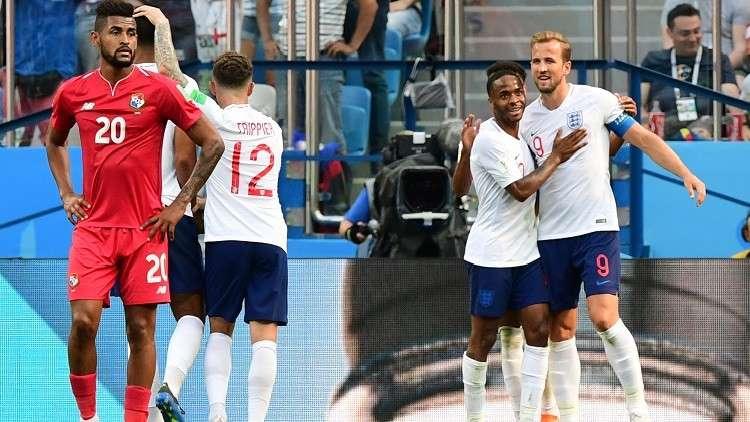 إنجلترا تحقق أكبر فوز في مونديال روسيا