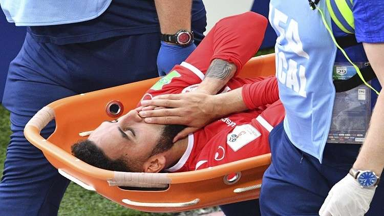 الإصابة تنهي مشوار برون وبن يوسف مع تونس في مونديال روسيا
