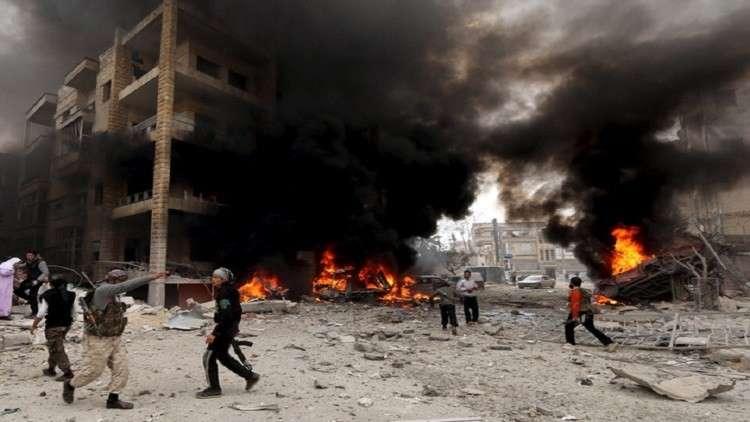 حميميم: الإرهابيون صوروا مشاهد استفزازية لإدانة روسيا وسوريا