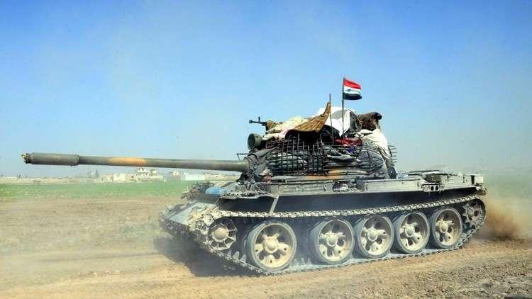 الجيش السوري يسيطر على مساحات شاسعة في بادية دير الزور