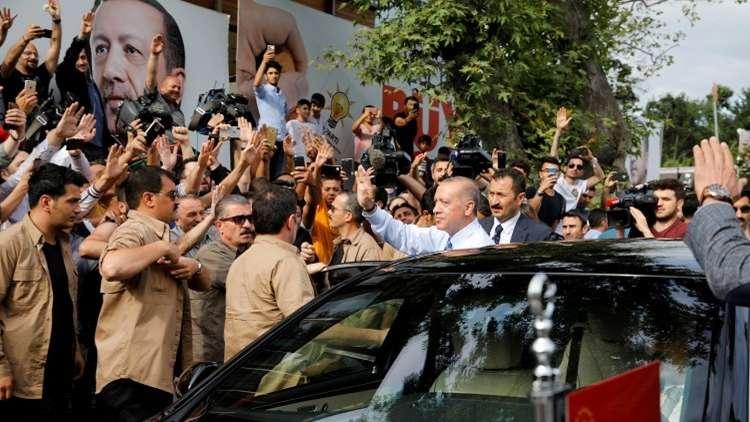 الإعلان رسميا عن فوز أردوغان في الانتخابات التركية