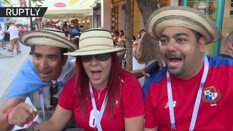 رغم الخسارة الفادحة.. مشجعو بنما يحتفلون بهدف منتخبهم في مرمى إنجلترا