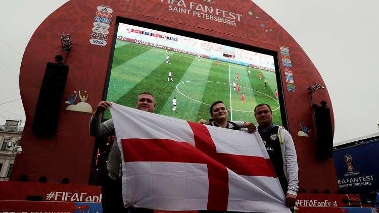 المشجعون البريطانيون نادمون لعدم اصطحاب أسرهم إلى روسيا لدعم إنجلترا