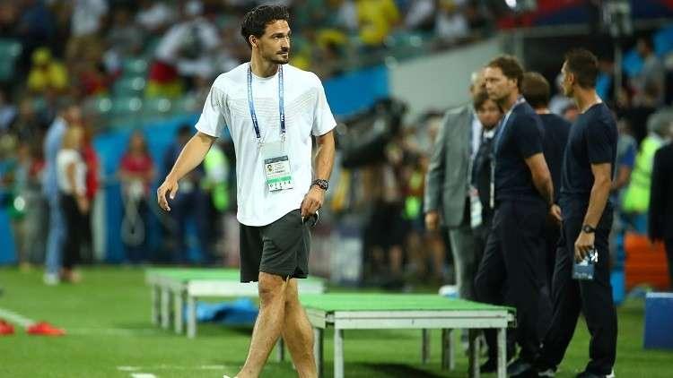 مونديال روسيا.. هوميلس جاهز للمشاركة مع ألمانيا أمام كوريا الجنوبية