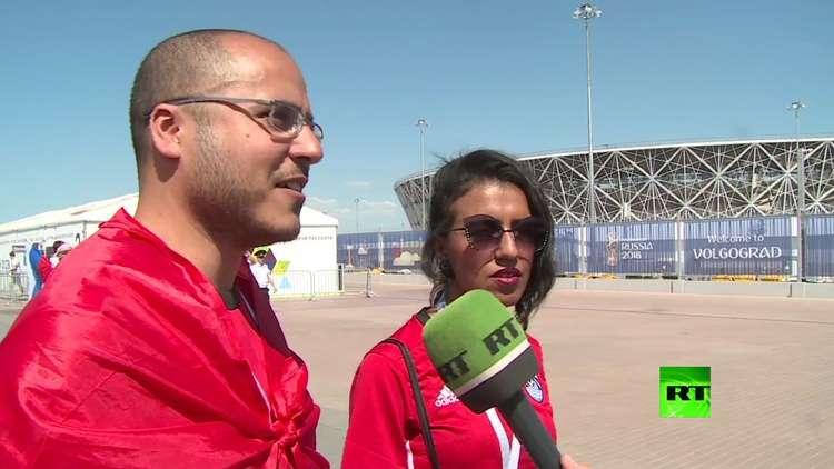 توقعات المشجعين المصريين والسعوديين أمام المباراة
