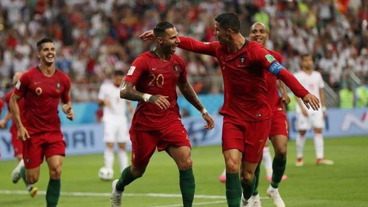 البرتغال تخرج من عنق الزجاجة أمام إيران