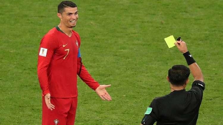 رونالدو كان يستحق البطاقة الحمراء بحسب مواطنه كيروش