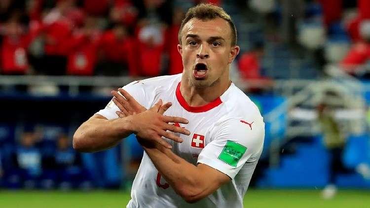 الفيفا يعاقب ثلاثي سويسرا بسبب النسر الألباني