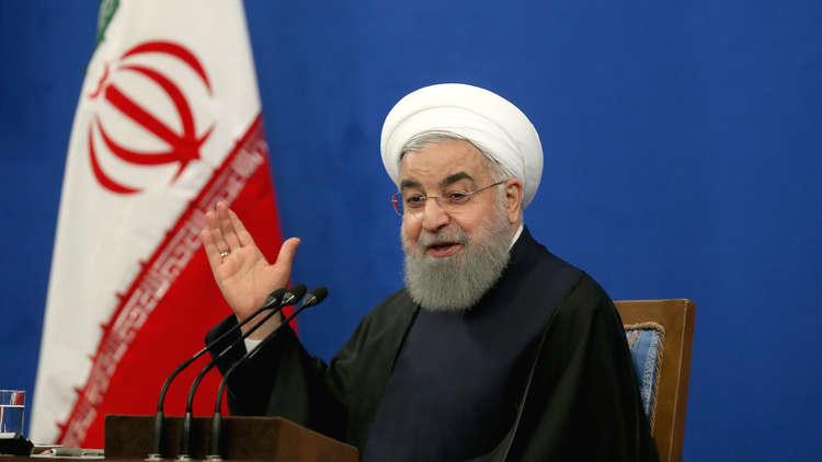 روحاني يتوعد بتركيع الولايات المتحدة!