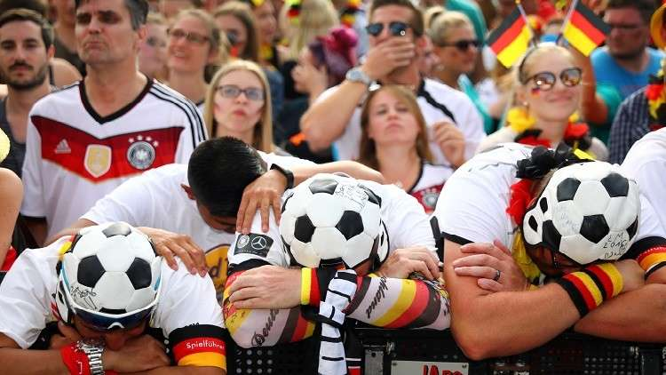 """وسائل إعلام ألمانية تصف الخروج من المونديال بـ """"الكابوس"""""""