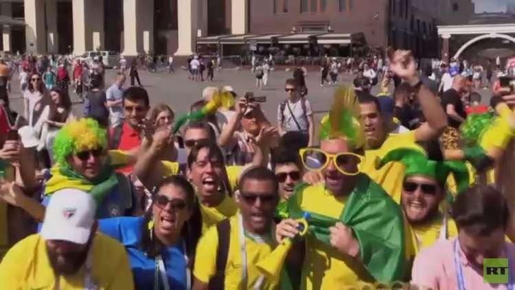 البرازيل تتغلب على صربيا