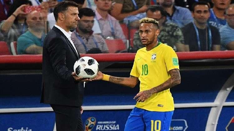 مدرب صربيا: البرازيل أفضل فريق في مونديال روسيا