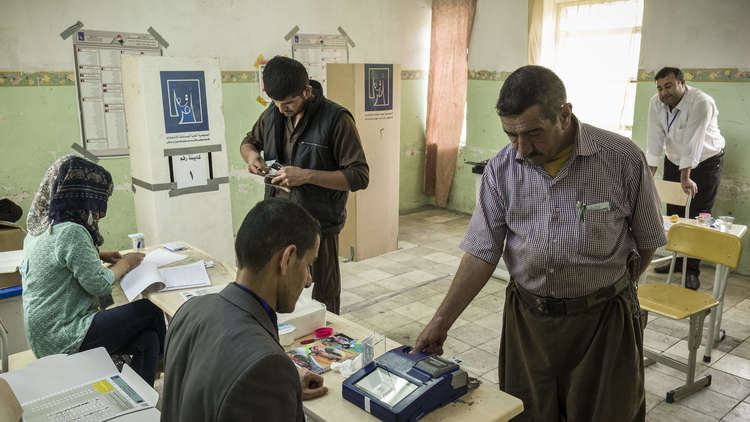 الجبوري: إعادة الفرز اليدوي لأصوات انتخابات العراق ستبدأ الأسبوع القادم