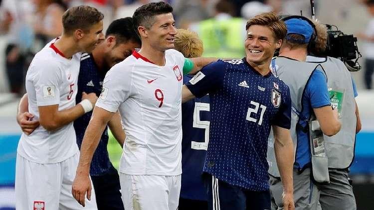 اليابان تتأهل للدور الثاني رغم الهزيمة أمام بولندا