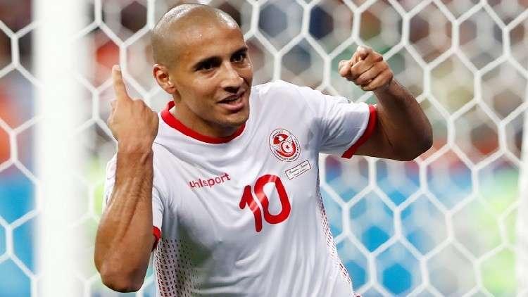 وهبي الخزري يدخل تاريخ المنتخب التونسي في المونديال