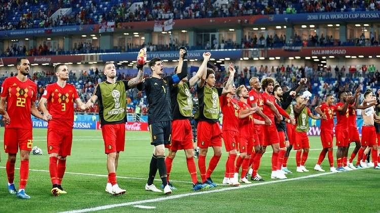 بلجيكا أكثر المنتخبات تهديفا في دور المجموعات لمونديال روسيا