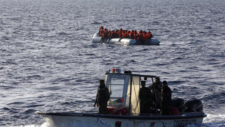 أنباء عن غرق 100 مهاجر قبالة سواحل طرابلس