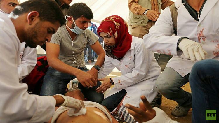 وزارة الصحة الفلسطينية تروي حيثيات مقتل المسعفة رزان النجار