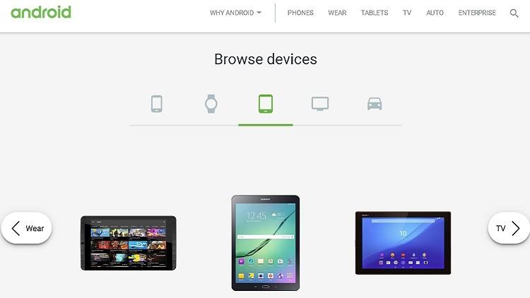 غوغل تزيل الكمبيوترات اللوحية بنظام أندرويد من موقعها.. مؤقتا
