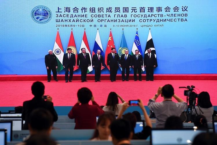 انطلاق قمة منظمة شنغهاي للتعاون في الصين
