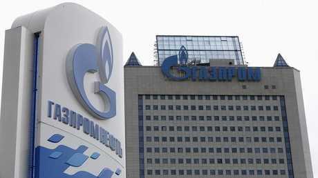 المقر الرئيسي لشركة غاز بروم في العاصمة الروسية موسكو  - أرشيف