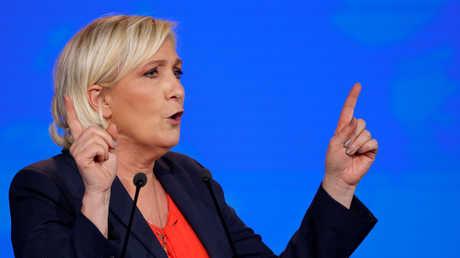 زعيمة الحزب اليميني الفرنسي