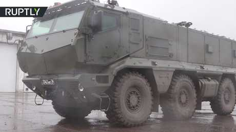 شاهد تدريبات للجيش الروسي بمشاركة