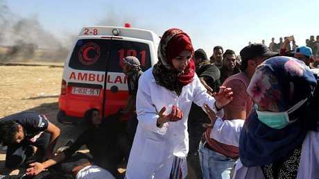 الممرضة رزان أشرف النجار