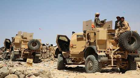 أرشيف - قوات يمنية مدعومة من قبل التحالف العربي
