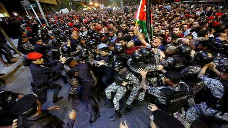 تجدد الاحتجاجات في عمان والمحافظات رفضا للسياسة الاقتصادية