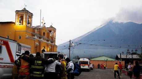 "ثوران بركان ""فويغو"" في غواتيمالا"