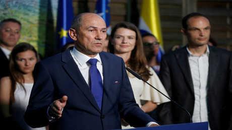 زعيم الحزب الديمقراطي السلوفيني يانيز يانزا