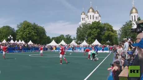 مباراة احتفالية للنجوم في كالينينغراد