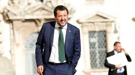 وزير الداخلية الإيطالي الجديد ماتيو سلفيني