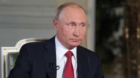 الرئيس الروسي، فلاديمير بوتين، خلال مقابلة مع قناة ORF النمساوية