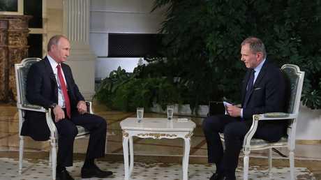 """مقابلة الرئيس بوتين مع مراسل قناة """"ORF"""" النمساوية أرمين وولف في الكرملين، 1 يونيو 2018"""