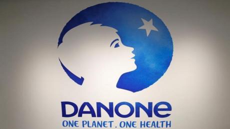 شعار شركة دانون الفرنسية لمنتجات الحليب