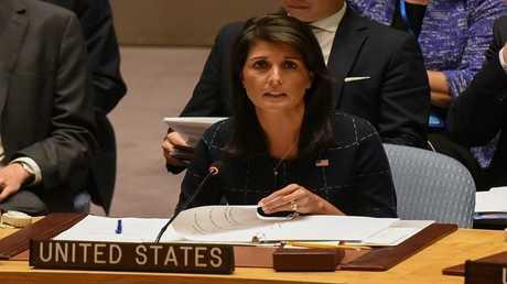 مندوبة أمريكا لدى الأمم المتحدة، نيكي هايلي