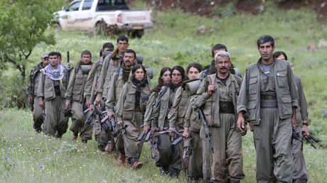 عناصر تابعون لحزب العمال الكردستاني - أرشيف