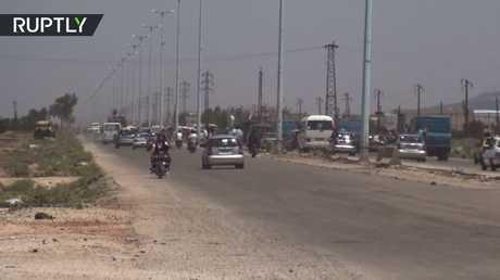 افتتاح طريق حماة حمص بعد 7 سنوات من إغلاقه!