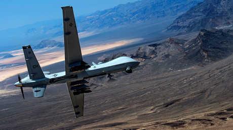 طائرة مسيرة تابعة للجيش الأمريكي
