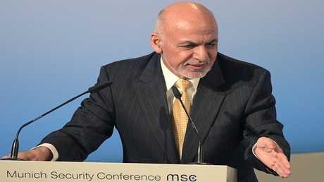 الرئيس الأفغاني، محمد أشرف غني