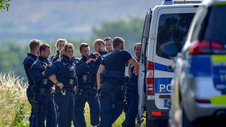 الشرطة عن موقع الجريمة