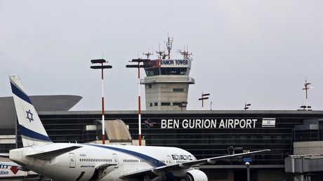 مطار بن غوريون إسرائيل