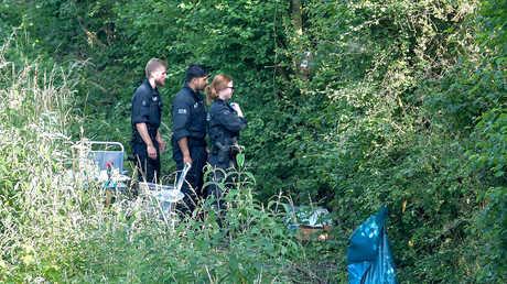 موقع العثور على جثة الفتاة الضحية