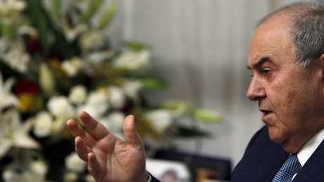 زعيم ائتلاف الوطنية في العراق إياد علاوي