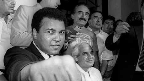 بطل الملاكمة الراحل محمد علي كلاي