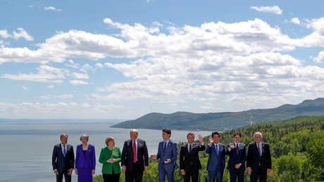 قادة مجموعة السبع الكبار في كندا