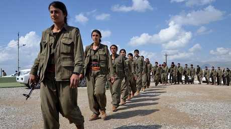 مقاتلو حزب العمال الكردستاني - أرشيف