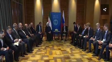 بوتين وروحاني يبحثان سوريا والملف النووي